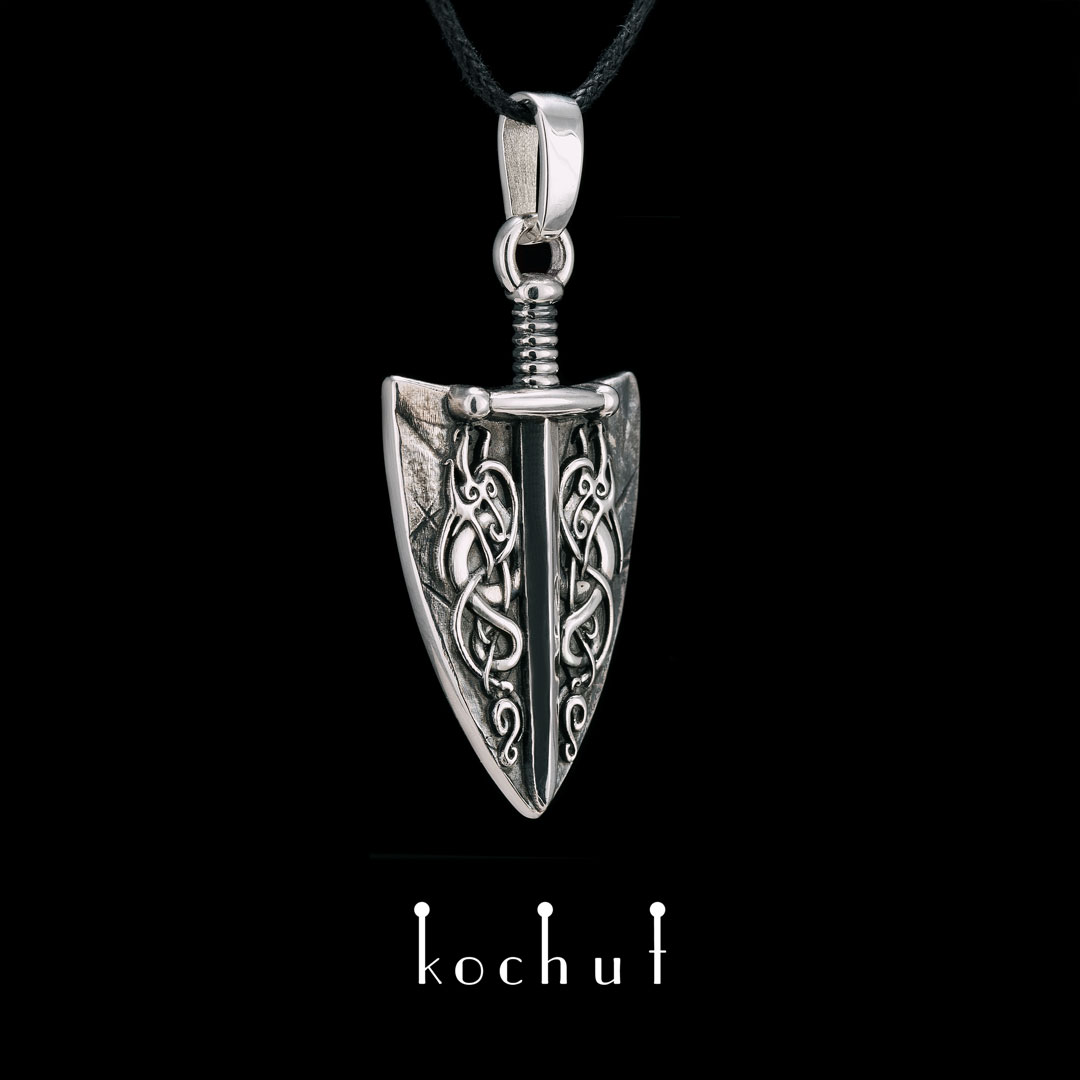 Power oftruth — silver pendant