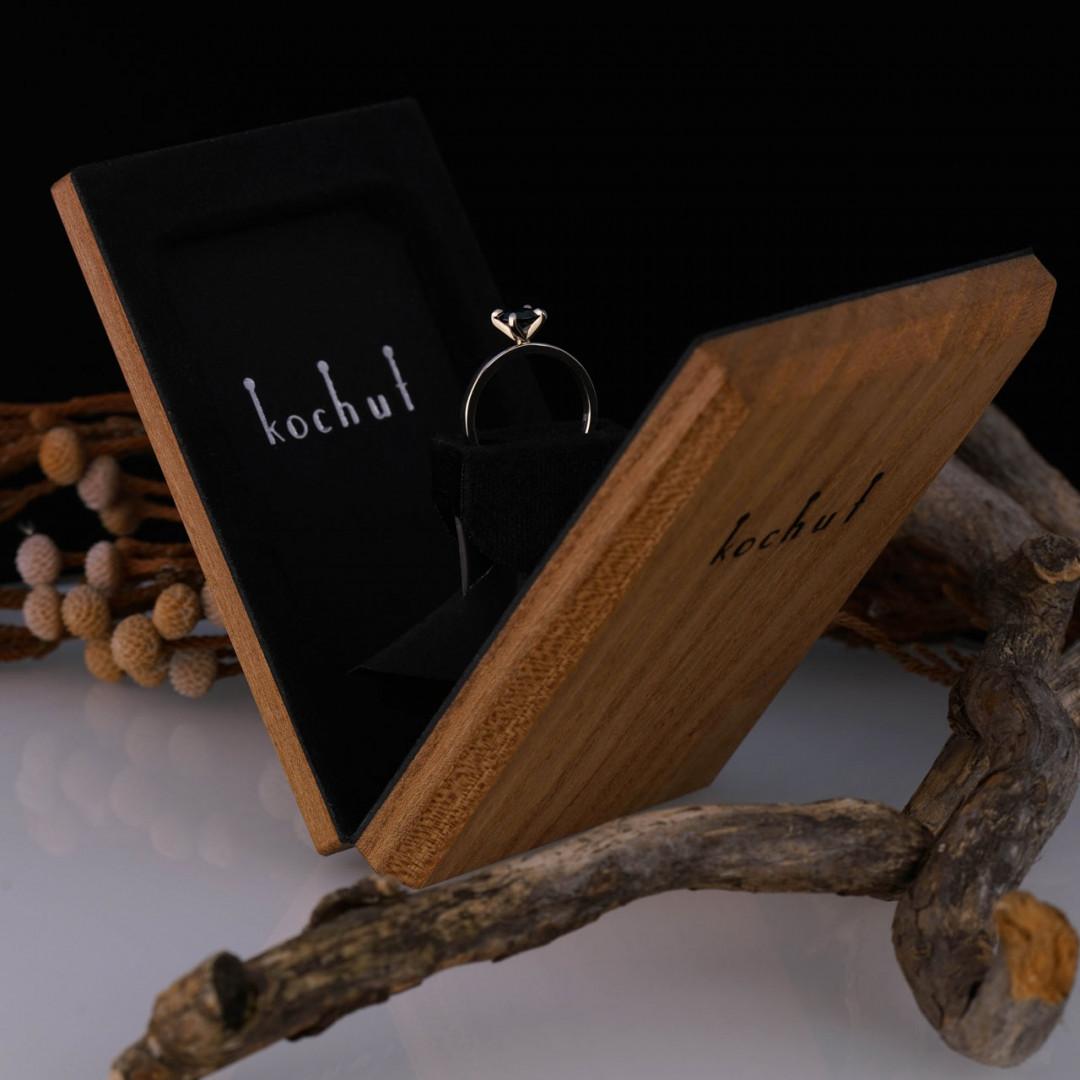 Engagement box «Twist». Swivel mechanism, elm, oil